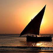 Zanzibar Sunset 22 Art Print by Giorgio Darrigo