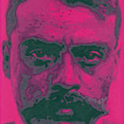 Zapata Intenso Art Print