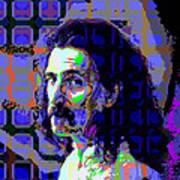 Zappa Blue Art Print
