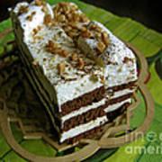 Zebra Cake Art Print