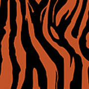 Zebra Print 003 Art Print by Kenneth Feliciano