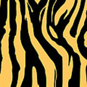 Zebra Print 005 Art Print by Kenneth Feliciano