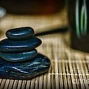 Zen Balance Is Key Art Print