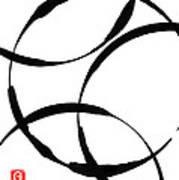 Zen Circles Art Print