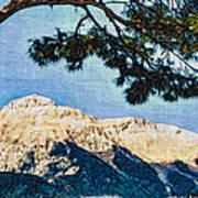 Zen Mountain Art Print