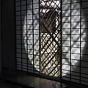 Zen Temple Window - Kyoto Art Print by Daniel Hagerman