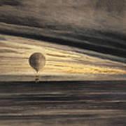 Zenith At Sunrise Art Print by Bill Cannon