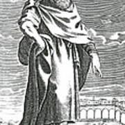 Zeno Of Citium, Ancient Greek Art Print
