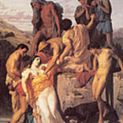 Zenobia Found By Shepherds Art Print