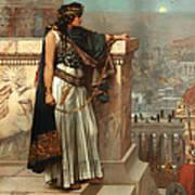 Zenobia's Last Look On Palmyra Art Print