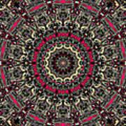 Zentangle No. 7 Kaleidoscope Art Print