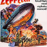 Zeppelin, Us Poster Art, Front Art Print
