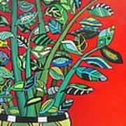 Zi Zi Plant II Art Print