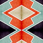 Zig Zag Angles 3 Art Print