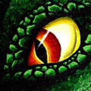 'zilla's Eye On You Art Print
