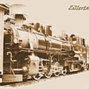 Zillertal Railway Art Print