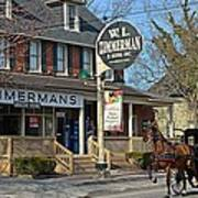 Zimmerman's Store Intercourse Pennsylvania Art Print