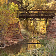 Zion Bridge Art Print