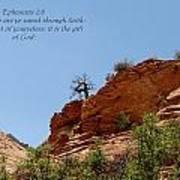 Zion  Eph 2-8 Art Print