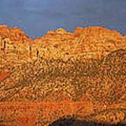 Zion Sunset Panorama Art Print