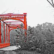 Zoar Bridge Art Print