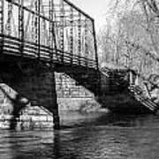 Zoar Iron Bridge Art Print