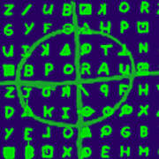 Zodiac Killer Code And Sign 20130213p128 Art Print