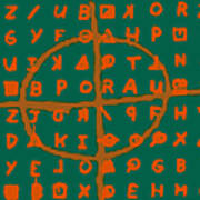 Zodiac Killer Code And Sign 20130213p28 Art Print by Wingsdomain Art and Photography