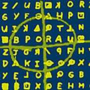 Zodiac Killer Code And Sign 20130213p68 Art Print