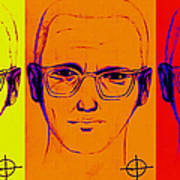 Zodiac Killer Three With Sign 20130213 Art Print by Wingsdomain Art and Photography