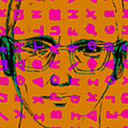 Zodiac Killer With Code And Sign 20130213m80 Art Print