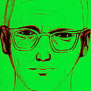 Zodiac Killer With Sign 20130213 Art Print by Wingsdomain Art and Photography