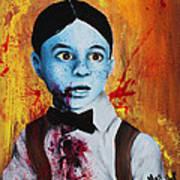 Zombie Alfalfa Art Print