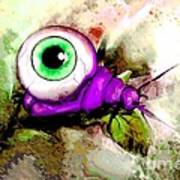 Zombie Insect Art Print