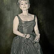 Zsazsa Gabor In The 1950's Art Print
