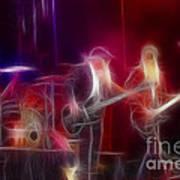 Zz Top-rhythmeen-c23-fractal-4 Art Print
