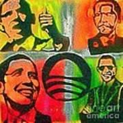 4 Barack  Art Print
