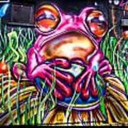 Atomic Frog Art Print