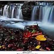 Autumnal Falls Art Print