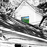 Beauregard Attic Baton Rouge Art Print