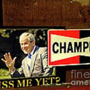 Champ Not Villain Art Print by Joe Jake Pratt