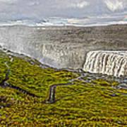 Detifoss Waterfall In Iceland - 02 Art Print