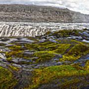 Detifoss Waterfall In Iceland - 03 Art Print