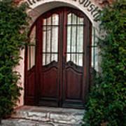 Doorway Eze  Art Print