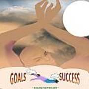 Goals Art Print