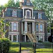 Gracious Victorian House In Montreal Art Print