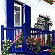 Greek Isles - Mykonos Art Print