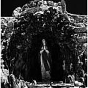 Grotto To Our Lady Art Print