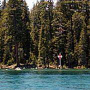 Lake Tahoe Sugar Pine Point Light Art Print