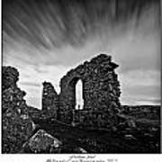 Llanddwyn Island Ruins Art Print